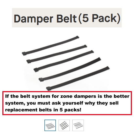 LOL damper belts