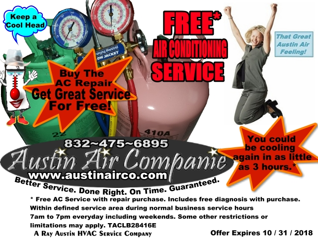 Free AC Service With Repair